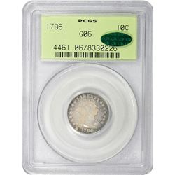 1796 JR-1. Rarity-3. Good-6 PCGS. OGH. CAC.