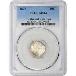 1895 MS-64 PCGS.