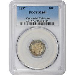 1897 MS-64 PCGS.
