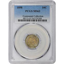 1898 MS-63 PCGS.