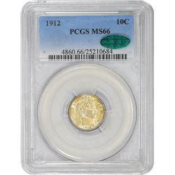 1912 MS-66 PCGS. CAC