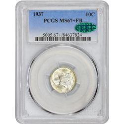 1937 MS-67 + FB PCGS.