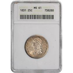 1831 B-6. Rarity-3. MS-61 ANACS.