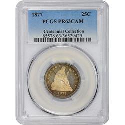 1877 Proof-63 CAM PCGS.