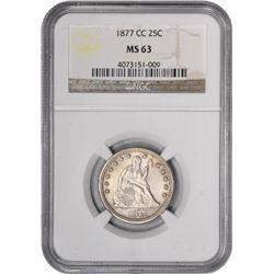 1877-CC MS-63 NGC.