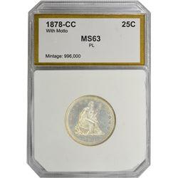 1878-CC MS-63 PL PCI.