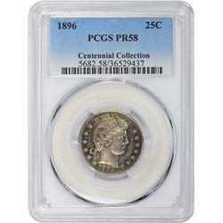1896 Proof-58 PCGS.
