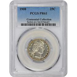 1908 Proof-61 PCGS.