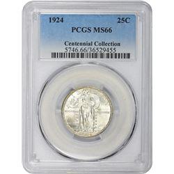 1924 MS-66 PCGS.