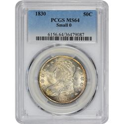 1830 O-101. Small 0. Rarity-1. MS-64 PCGS.