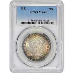 1831 O-111. Rarity-1. MS-64 PCGS.