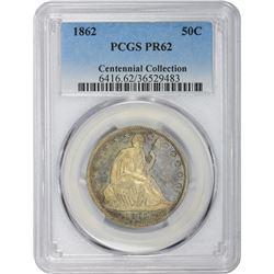 1862 Proof-62 PCGS.