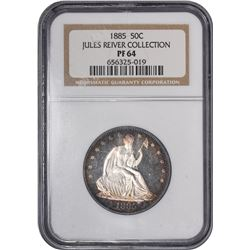 1885 WB-101. Rarity-4. Proof-64 NGC.