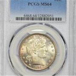 1894 MS-64 PCGS.
