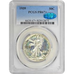 1939 Proof-67+ PCGS. CAC.