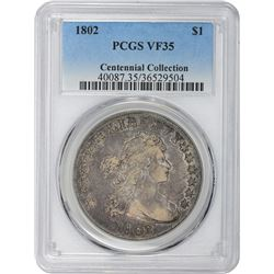1802 B-6, BB-241. Rarity-1. VF-35 PCGS.