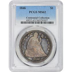 1846 MS-62 PCGS.