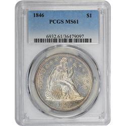 1846 MS-61 PCGS.