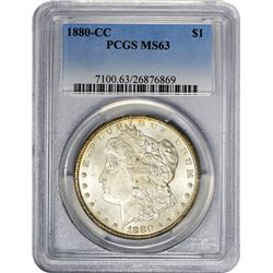 1880-CC MS-63 PCGS.