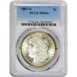 1887-O VAM-Uncertain. MS-64+ PCGS.