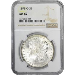 1898-O MS-67 NGC