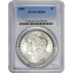 1899 MS-64 PCGS.