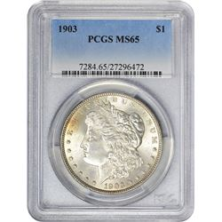 1903 MS-65 PCGS.