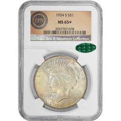 1934-S MS-65+ NGC. CAC.