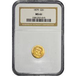 1879 MS-61 NGC