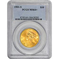 1901-S MS-64+ PCGS.
