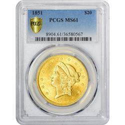 1851 MS-61 PCGS