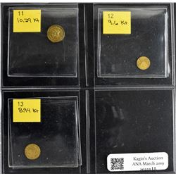 Mixed Gold Token Lot