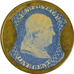 S. Steinfeld. 1 Cent. HB-221, EP-27, S-165. About Uncirculated.