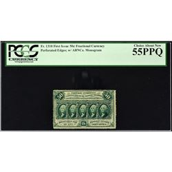 Lot of (4) First Issue. 50 Cents Frational Currency. PCGS Currency Graded.