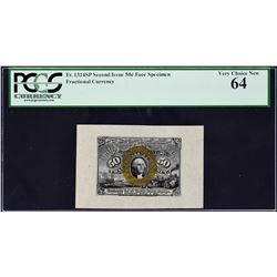 Lot of (2) Fr. 1314sp. Second Issue. Wide Margin Fractional Currency Specimens. PCGS Currency Graded