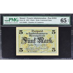 Chamber of Commerce. 22.2.1922, Mixed Denominations. P-Various. PMG Graded.