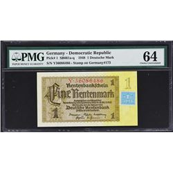 Soviet Occupation. 1948, 1 to 100 Deutsche Mark. P-1 to 7a. PMG Graded.