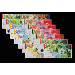 Bank of Israel. 1998 to 2008, Mixed Denominations. P-Various. Choice to Gem Uncirculated.