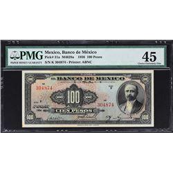 Banco de Mexico. 10.9.1936, 100 Pesos. P-31a. PMG Choice Extremely Fine 45.