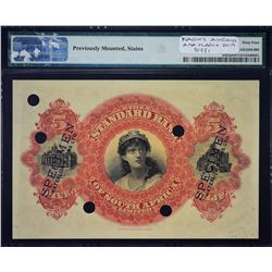 Standard Bank. ND (1900-20), 5 Pounds. P-423s. PMG Choice Uncirculated 64 Net. Previously Mounted, S