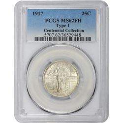1917 Type I. MS-62 FH PCGS.