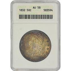 1832 O-108. Rarity-4. AU-58 ANACS.