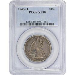 1848-O EF-40 PCGS.