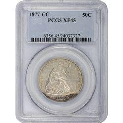 1877-CC EF-45 PCGS.