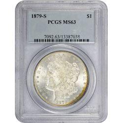 1879-S 3rd Reverse. MS-63 PCGS.