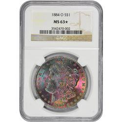 1884-O MS-63* NGC.