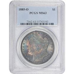 1885-O MS-63 PCGS.