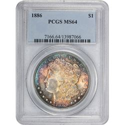 1886 MS-64 PCGS.