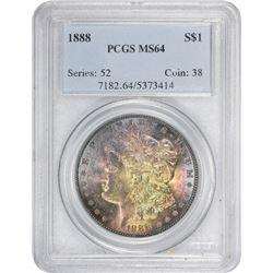 1888 MS-64 PCGS.