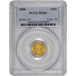 1888 MS-62 PCGS.